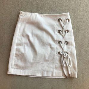 Alpha | Omega Lace-Up Skirt